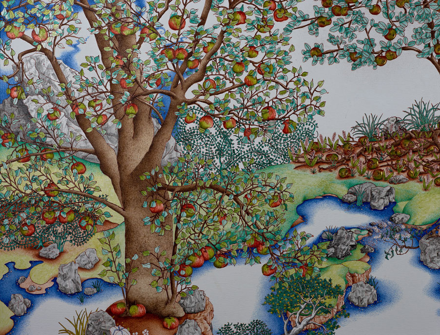 The Tree of Life - Detail